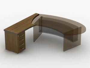 приставка стола з тумбою 180х75х63