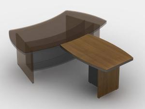 стіл брифінг 120х75х80