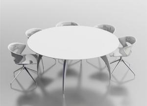 стіл для переговорів D180 арт. 90DC03