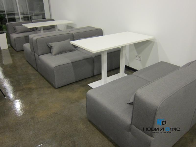 стіл для офисної кухні 130х75х80 kdk-1380 | Фото - 2