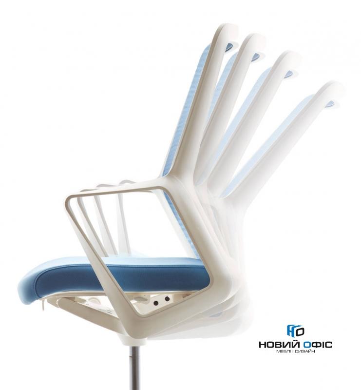 Крісло flo black з підголовником | Фото - 2