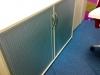 Тумба для документів офісна на 2 полиці ролетна 130х80х48 ur-222rl | Фото - 2