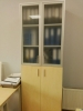 Шафа для документів офісна на 5 полиць (дсп і скляні фасади)  80х193х42 арт. Ur-2523g | Фото - 2
