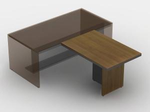 Стол брифинг 2 120х75х80
