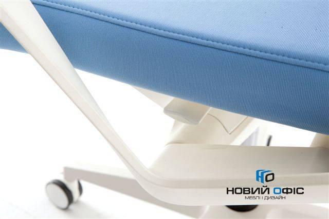 Крісло офісне flo white | Фото - 3