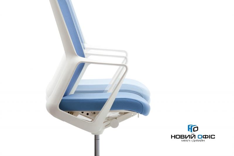 Крісло flo white з підголовником | Фото - 7