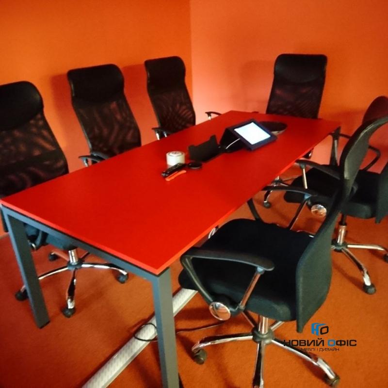 Стіл для переговорів прямий 200х75х100 kdm-2010 | Фото - 5