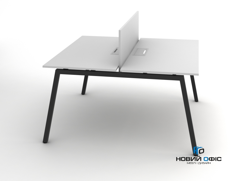 Сучасний офісний стіл для двох робочих місць 140х75х140 rd-1414 | Фото - 1