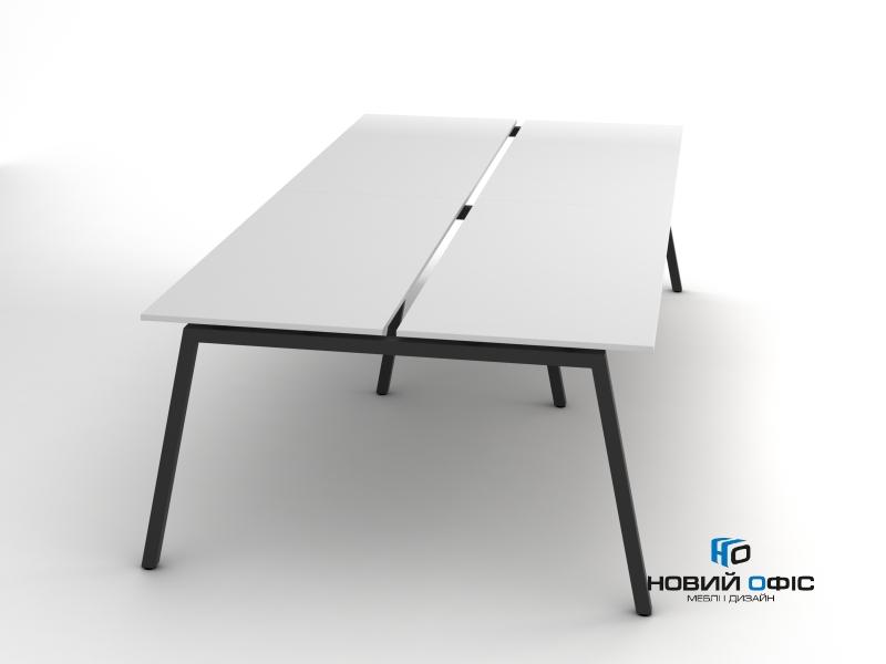Сучасний офісний стіл на 4 робочих місця 280х75х140 rd-2814 | Фото - 0