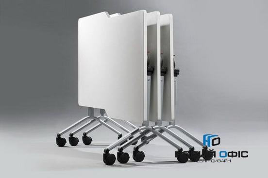 Мобільний складний стіл для переговорів 160х75х80 | Фото - 1