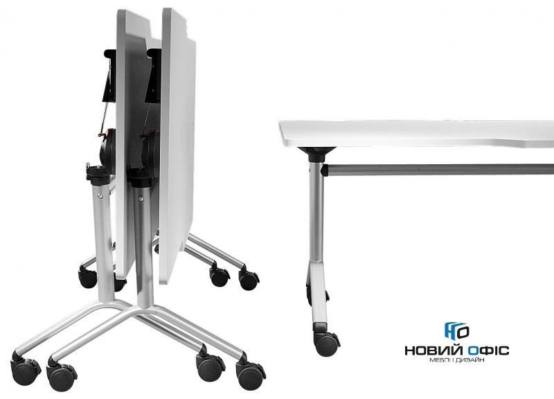 Мобільний складний стіл для переговорів 160х75х80 | Фото - 2
