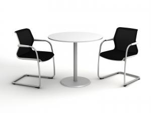 Стіл для переговорів круглий 90х90 kdm-90