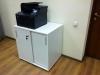 Тумба під принтер з розсувними дверима на 2 полиці 80х80х60 арт. Ur-222-1SL   Фото - 2