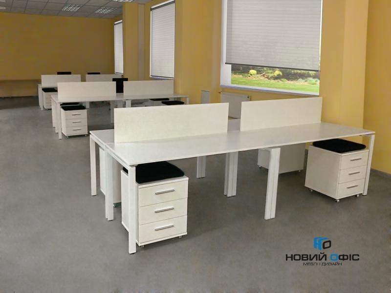 Стіл офісний 160х75х70 kd-1670 | Фото - 6