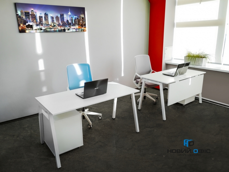 Сучасний офісний стіл 140х75х70 rd-1470 | Фото - 7