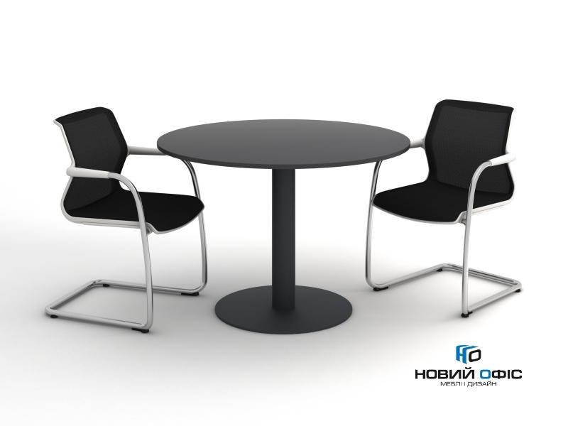 Стіл для переговорів круглий 110х110 kdm-110 | Фото - 1