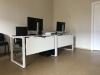 Стильный офисный стол в белом цвете 140х75х70 kqd-1470  | Фото - 3