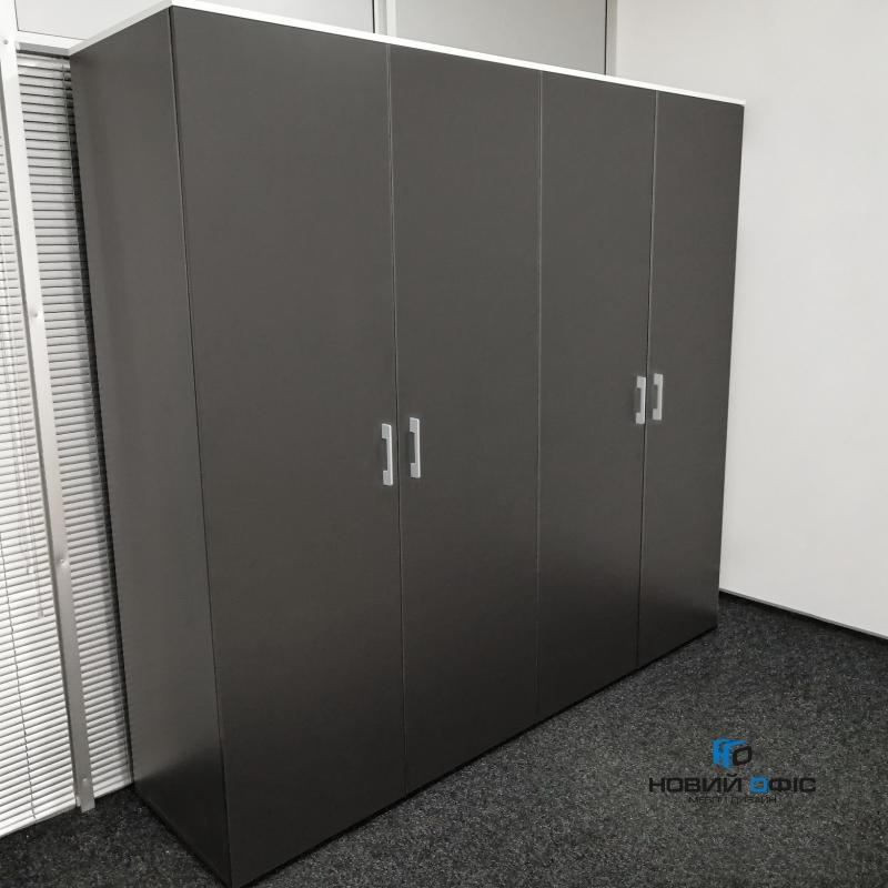 Шафа для документів офісна на 5 полиць (5 полиць закрыті фасадом) 80х193х42 арт. Ur-255 | Фото - 1