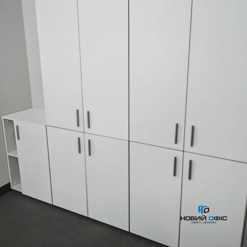 Шафа для документів офісна на 5 полиць (5 полиць закриті фасадами) 80х193х42 арт. Ur-2523 | Фото - 1