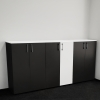 Шафа для документів офісна на 3 полиці 80х120х42 арт. Ur-233 | Фото - 1