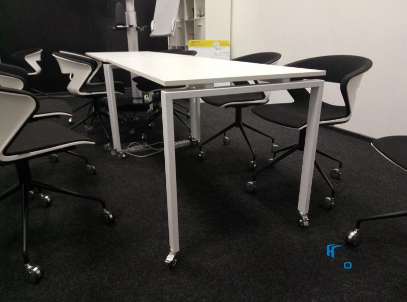 Стіл офісний мобільний 140х75х70 kdr-140 | Фото - 5