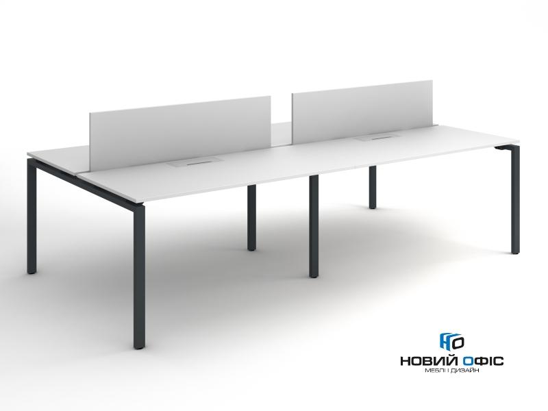 Офісний стіл на 4 робочих місця 280х75х140 kd-2814 | Фото - 1