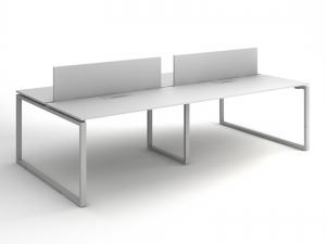 Офісний стіл на 4 робочих місця 280х75х140 kqd-2814
