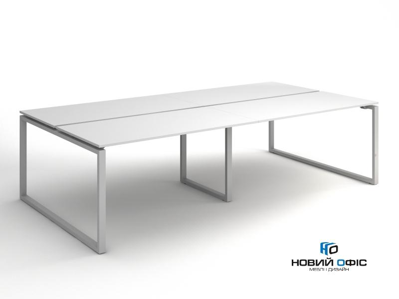 Офісний стіл на 4 робочих місця 280х75х140 kqd-2814 | Фото - 1