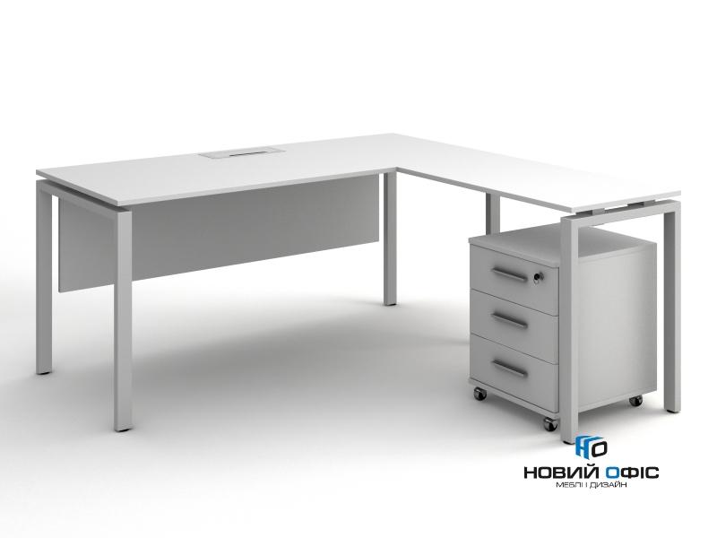 кутовий стіл офісний 160х75х150/70х50 kd-16147 L/R | Фото - 3