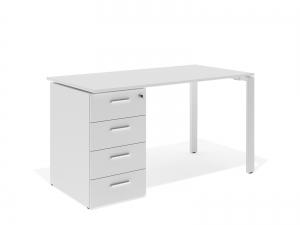 офісний стіл з тумбою 140х75х70 kd-1470C