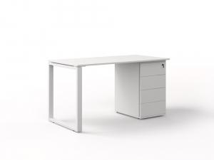 офісний стіл з тумбою 140х75х70 kqdz-1470CP