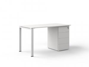 офісний стіл з тумбою 140х75х70 kdz-1470CP