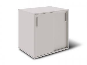 Тумба під принтер з розсувними дверима на 2 полиці 80х80х60 арт. Ur-222-1SL