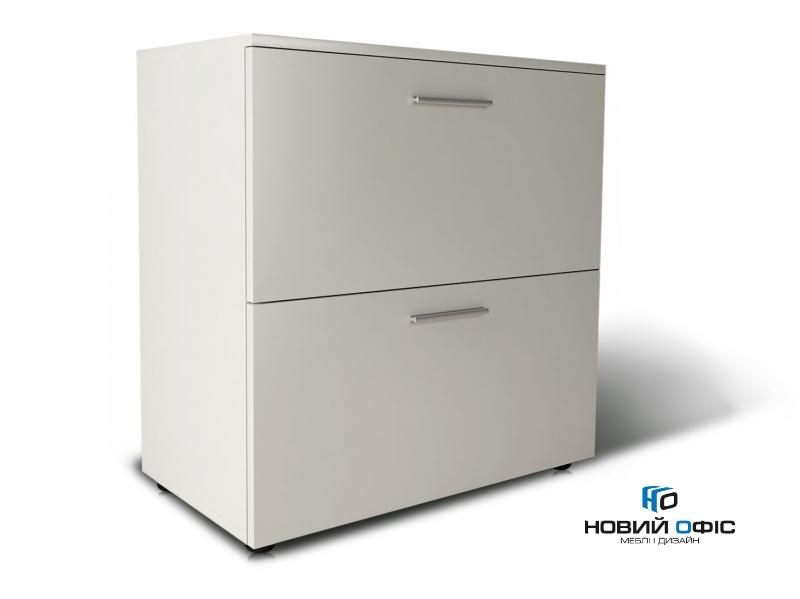 Шафа для документів офісна на 2 файлових ящика 80х80х42 арт. Ur-222f | Фото - 0