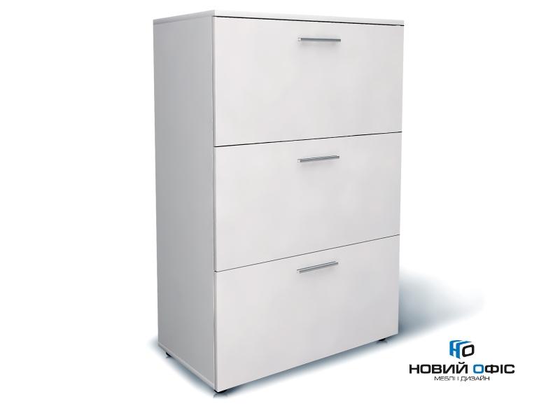 Шафа для документів офісна на 3 файлових ящики 80х120х42 арт. Ur-233f | Фото - 0