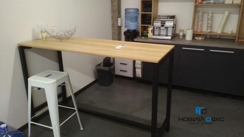 високий стіл для переговорів 160х120х60 kdm-1660 | Фото - 2